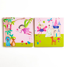 Enchanted Pink Fairy Canvases