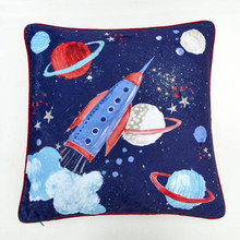 Starship Blue Space Cushion