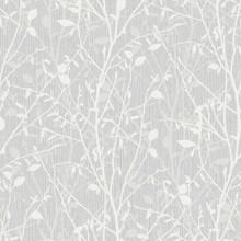 Bosco Silver Woodland Tree Wallpaper