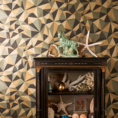 loading zoom image 1 cole and son quartz black and gold shapes wallpaper