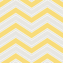 Yellow Chevron Wallpaper with Glitter