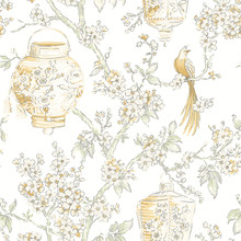 yellow colour wallpaper in bright lemon and mustard shades
