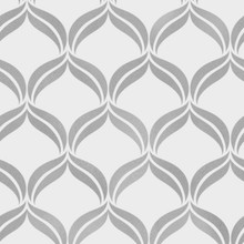 Wentworth Grey Glitter Geometric Wallpaper