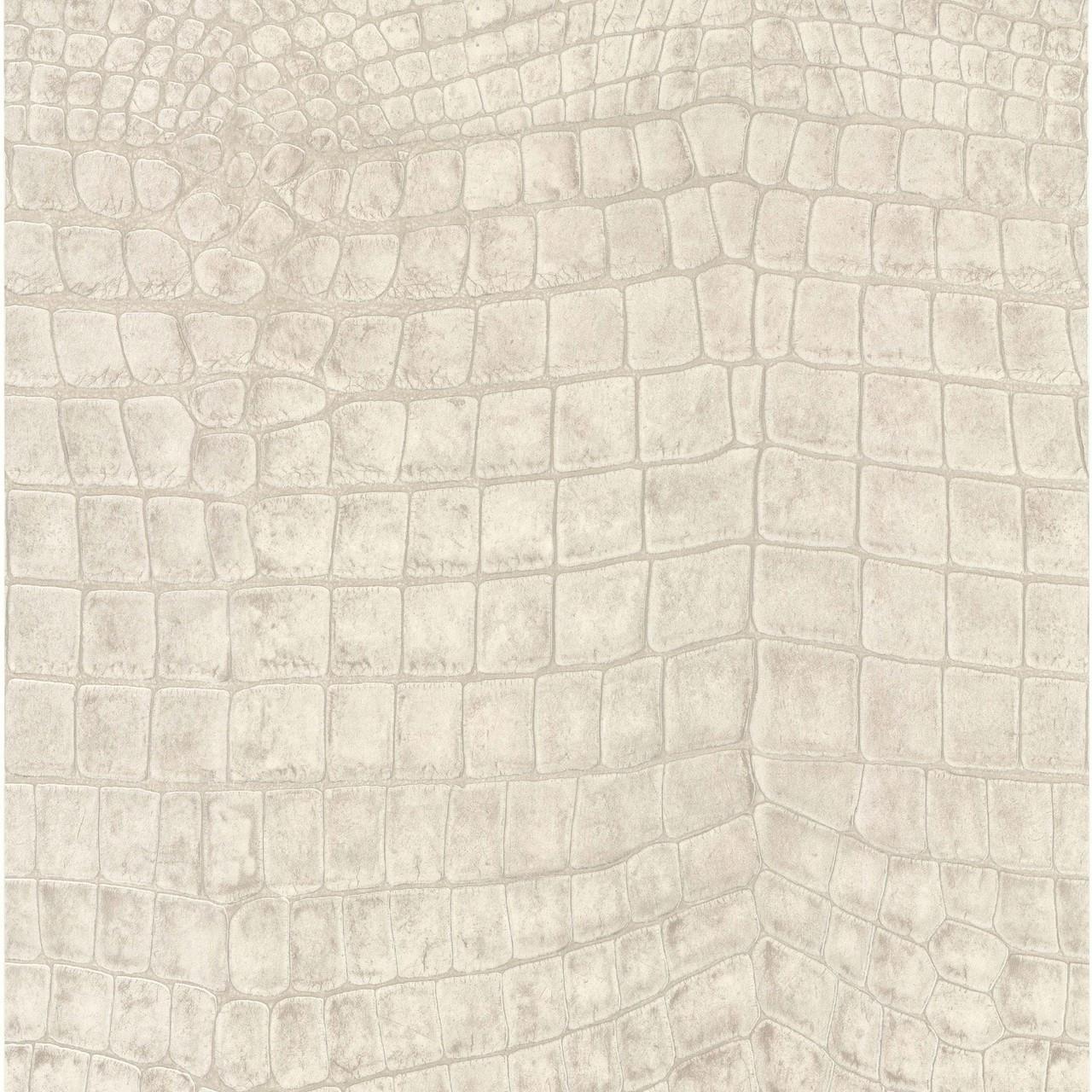 lutece crocodile stone wallpaper galerie wallcoverings
