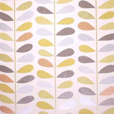 Jasmine Multi Leaf Stem Wallpaper