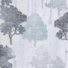 Black silver and grey trees textured wallpaper