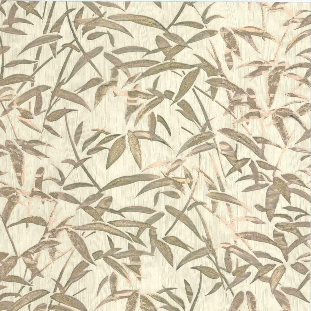 Milano 6 bamboo gold wallpaper fine decor wallpaper for Bamboo mural wallpaper