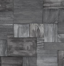 Assorted grey wooden blocks wallpaper