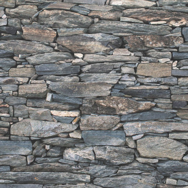 3D realistic grey stone wallpaper