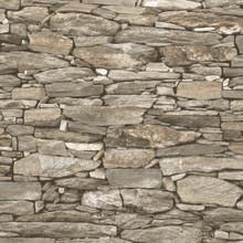 3D realistic beige stone wallpaper