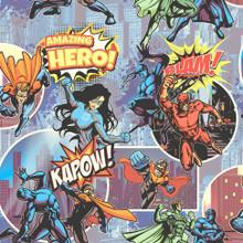 Multi Superhero Wallpaper