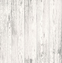 White and Silver Wood Panel Wallpaper