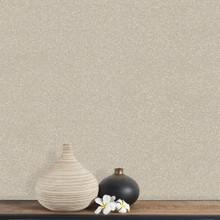 Beige Sequin Effect Wallpaper on Wall