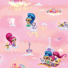 Pink Shimmer and Shine Kids Wallpaper