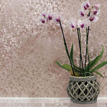 Rose Gold Velvet Crush Wallpaper in Room