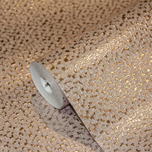 Rose Gold Mosaic Wallpaper with Foil Effect