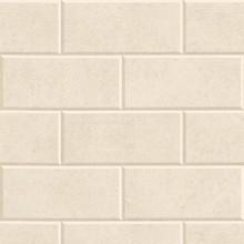 Versace Beige Greek Key Brick Tile Wallpaper