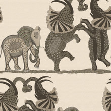 Cole and Son Neutral Dancing Elephants Wallpaper