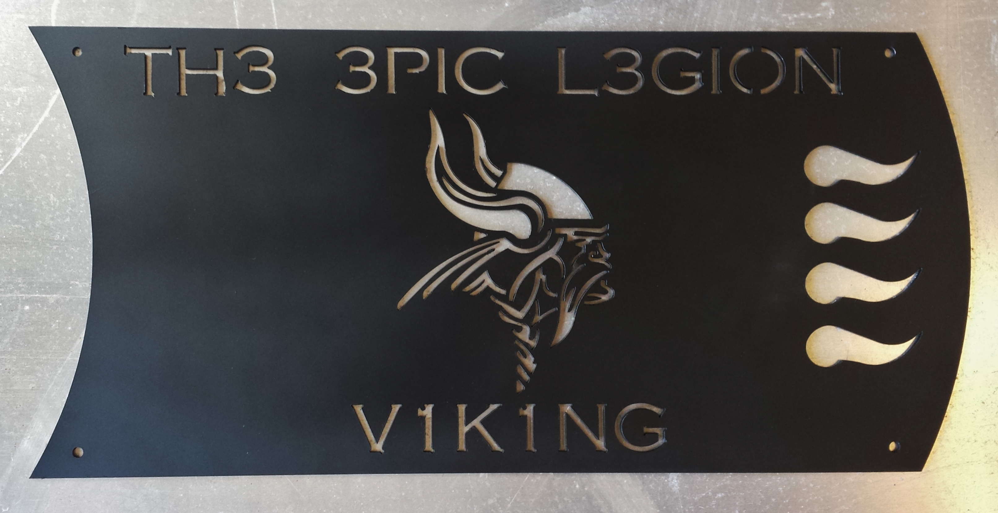 Custom Viking Sign