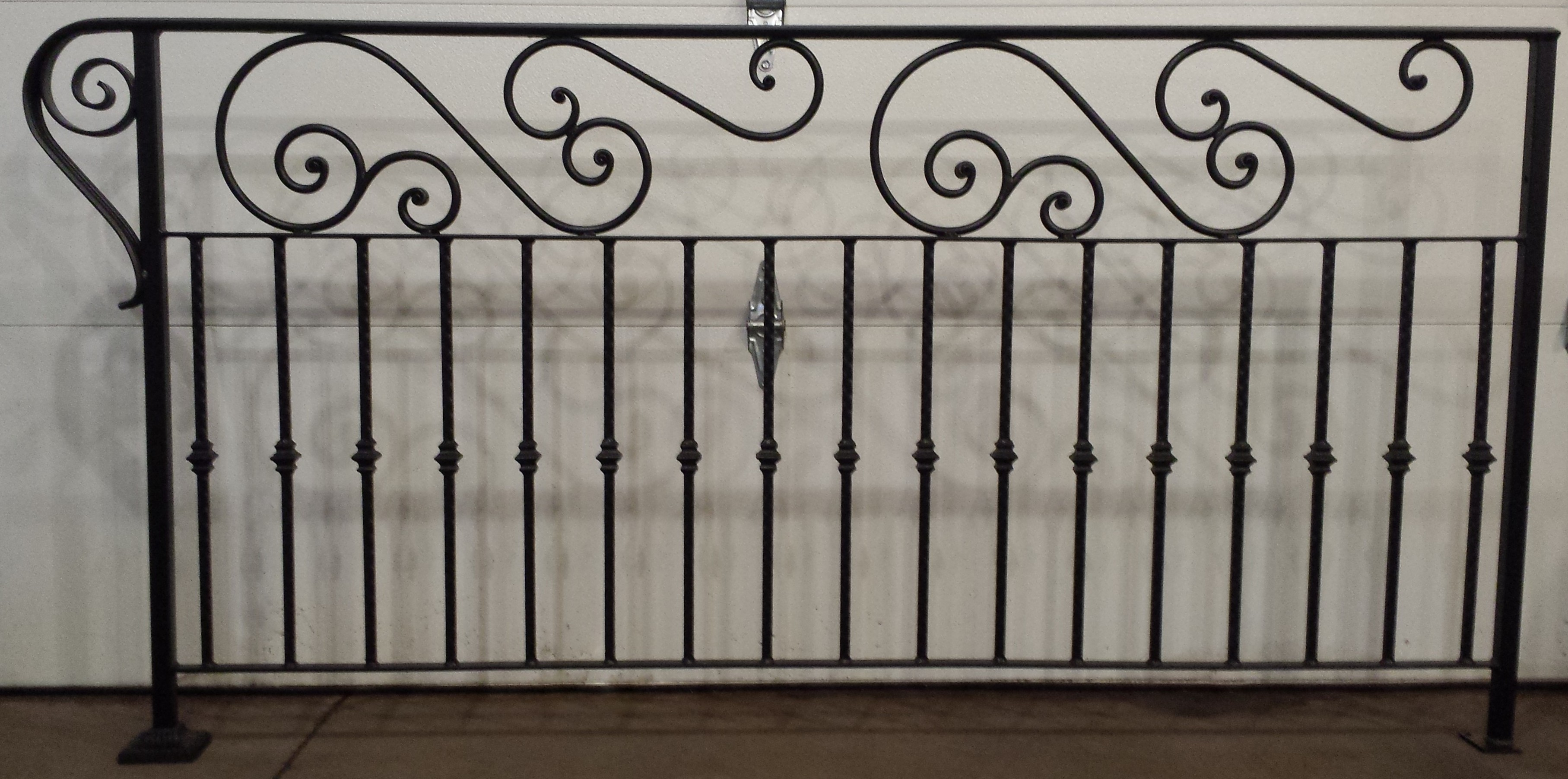 Custom decorative railing Decorative railings