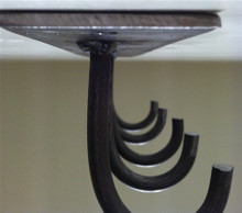 """Under Mantle"" Fireplace Tool Hanger"