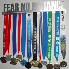 Fear No Distance Medal Hanger