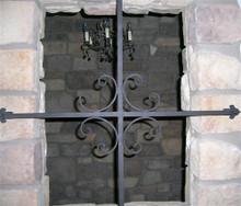 Window Cross - Scrolls