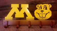 Gophers Coat Hanger Maroon and Gold