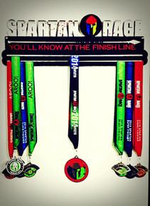 Spartan Medal Hanger Trifecta - Double Hanger