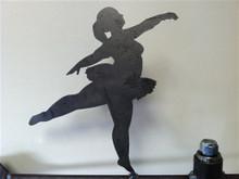 Chubby Ballerina Weathervane