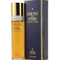 Diamonds & Sapphires by E Taylor EDT Spray for Women 3.3 oz