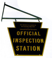 PA Safety Inspection Sign Kit