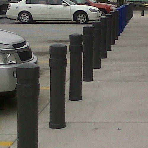 "6"" architectural decorative bollard"