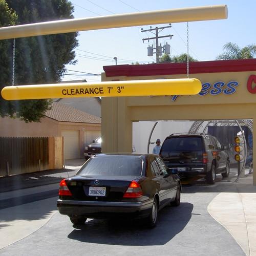 """6"""" Clearance Bar At Car Wash"""