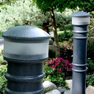 "6"" Metro Hardwired Lighted Bollard"