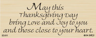 Close to your Heart Thanksgiving Greeting - 854H