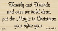 Family & Friends Christmas - 853G