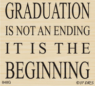 Graduation Is The Beginning Verse - 848G