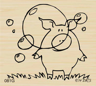 Leonard Pig Behind the Bubble - 081G