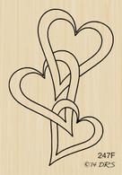 Interlocking Hearts - 247F