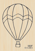 Hot Air Balloon - 583F