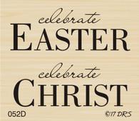Celebrate Easter Celebrate Christ - 052D