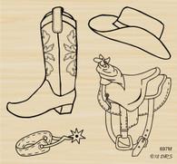 4 in 1 Cowboy Gear - 697M