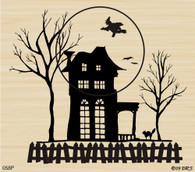 Silhouette Haunted House - 058P