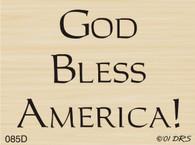 God Bless America - 085D