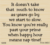Happy Hour/Nap Time Greeting - 208G