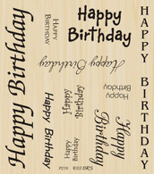 Birthday Multi Greeting - 219P