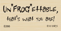 Un'Frog'ettable Greeting - 266E