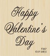 Medium Script Valentine's Day - 357F