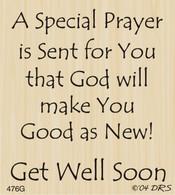 Get Well Prayer - 476G